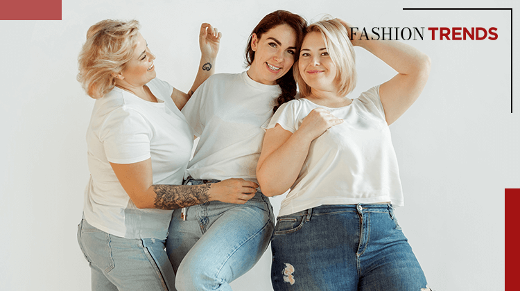 Fashion Trends and Style - oval body shape - Banner